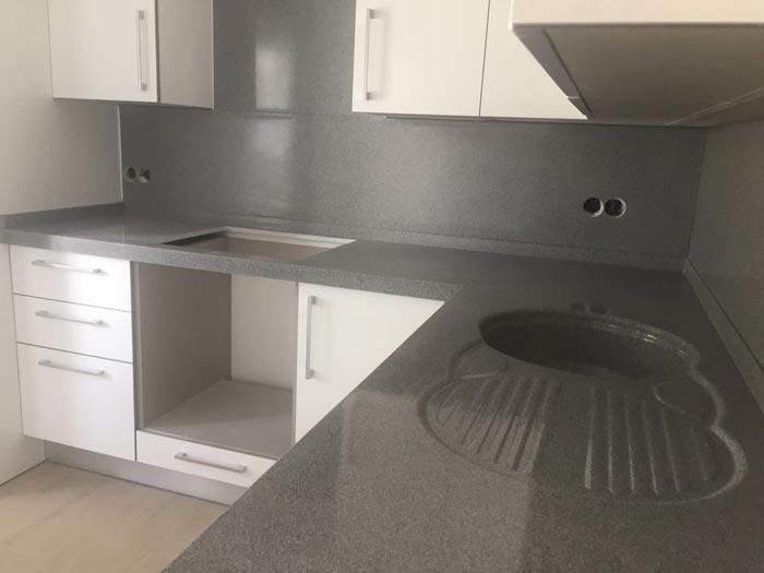 Mutfak Tezgahı meranit polyester, mutfak tezgahları, mutfak tezgah imalatı